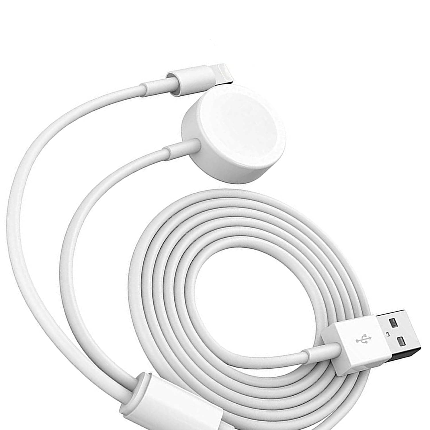 Smart Watch Charger Charging Cable Compatible with Apple Watch Charger Series 6/5/SE/4/3/2/1 iOS 6.0 & Phone 12/11/Pro/Max/XR/XS/XS Max/X&iPad Series
