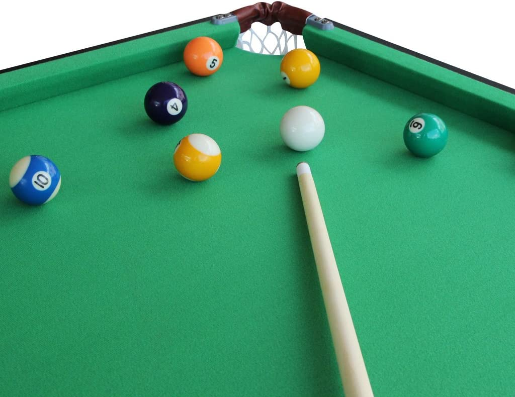 IFOYO 55 Folding Billiard Table Set Table Top Pool with All Accesorry Included,Quick Assembly