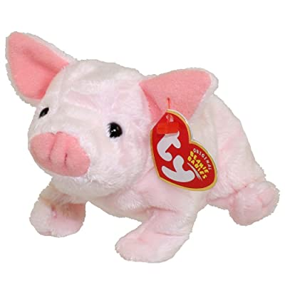 TY Beanie Baby - LUAU the Pig: Toys & Games [5Bkhe1002158]
