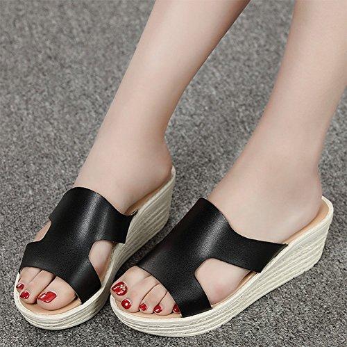 Pantofole Cool Signore Foderati Pantofole Piatto delle Fondo Fondo A Estate Interno Spessore Morbido weiwei del cAtnqSIt