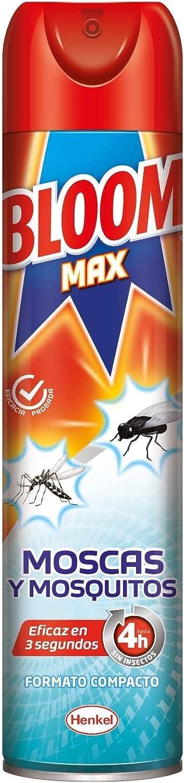 Bloom Max 4h Aerosol Contra Moscas y Mosquitos - 400 ml