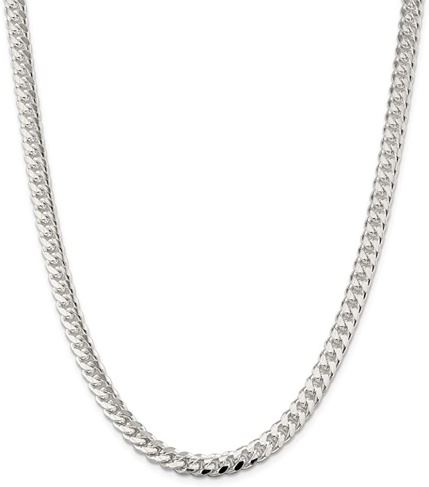 10K Mireval 14K Sterling Silver Curb Chain Necklace Collection