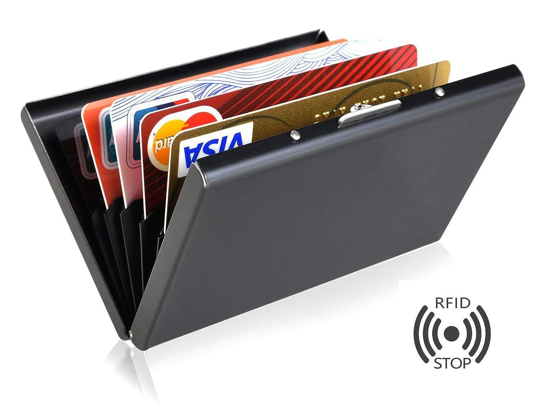 DAHSHA RFID Blocking 6 Slot Credit Card Holder ecf8d6e12