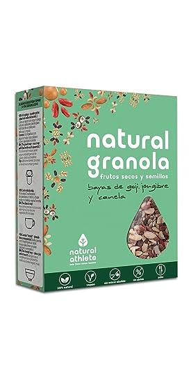 Granola *Nueva Receta* -Natural Athlete- Desayuno con frutos secos y semillas -
