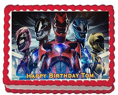 Power Rangers Edible Cake Image Frosting Sheet]()