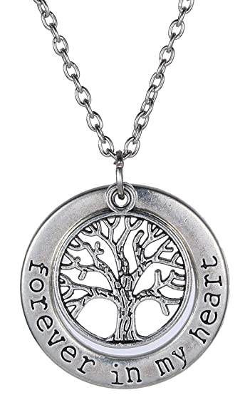 Amazon silver chain necklace tree of life pendant 236 jewelry silver chain necklace tree of life pendant 236 aloadofball Image collections