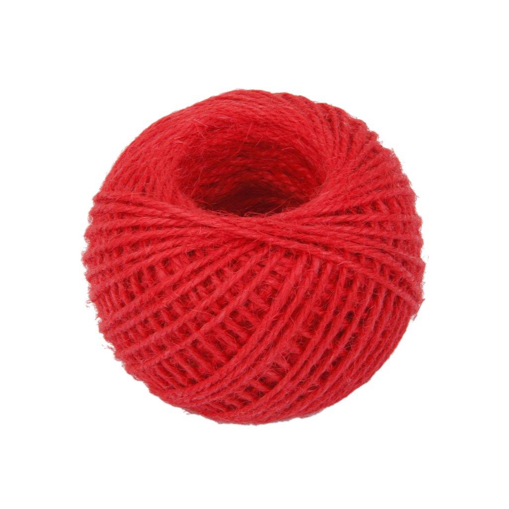 50m Rollo de Cuerda Cable Hilo de Cá ñ amo Artesanal Decoració n para Hogar -Rojo Genérico FMISSACGHJH771
