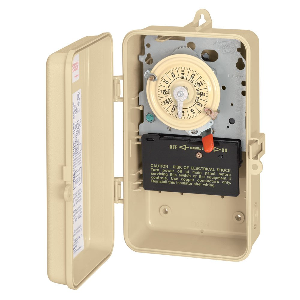 Intermatic T101R3 Timer Switch In Metal Enclosure