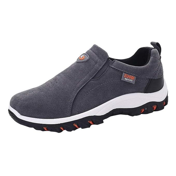 25935869 Zapatillas de Hombre de BaZhaHei, Zapatos de Senderismo al Aire Libre  Casuales Zapatillas de Deporte