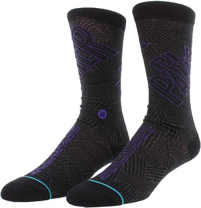 Stance NEW Men/'s Marvel Black Panther Socks Black BNWT