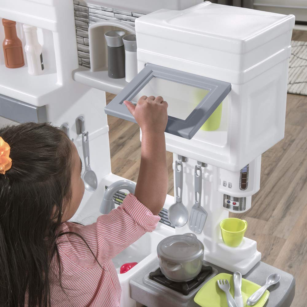 Step2 Downtown Delights Kitchen Kids Playset, Gray by Step2 (Image #4)