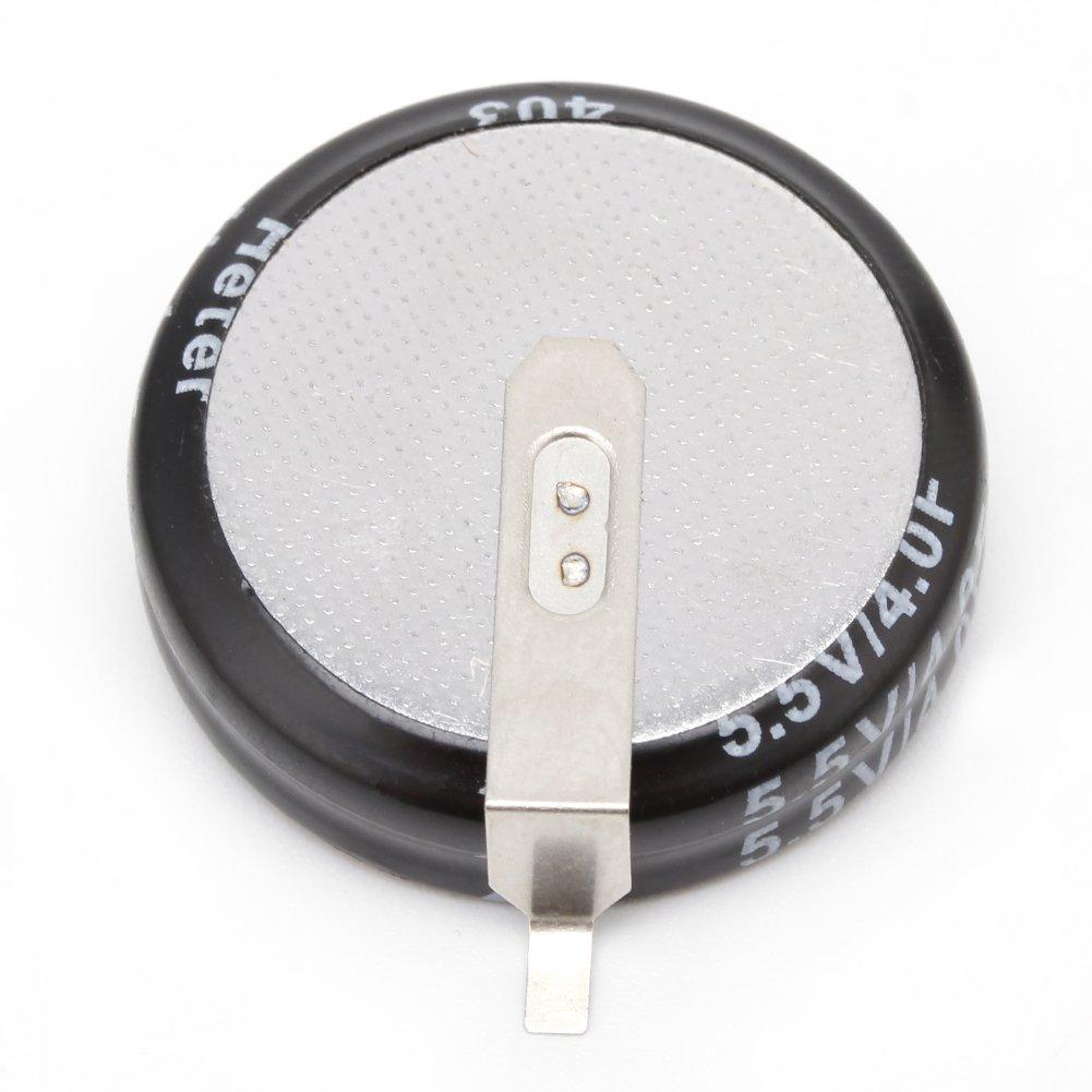 2 Pcs 5.5 V 4.0F Universal Super Capacitor H-Type Button Smart Capacitance New Capacitor Set