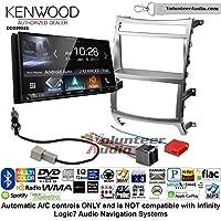 Volunteer Audio Kenwood DDX9904S Double Din Radio Install Kit with Apple CarPlay Android Auto Bluetooth Fits 2007-2012 Hyundai Veracruz (Automatic A/C controls)