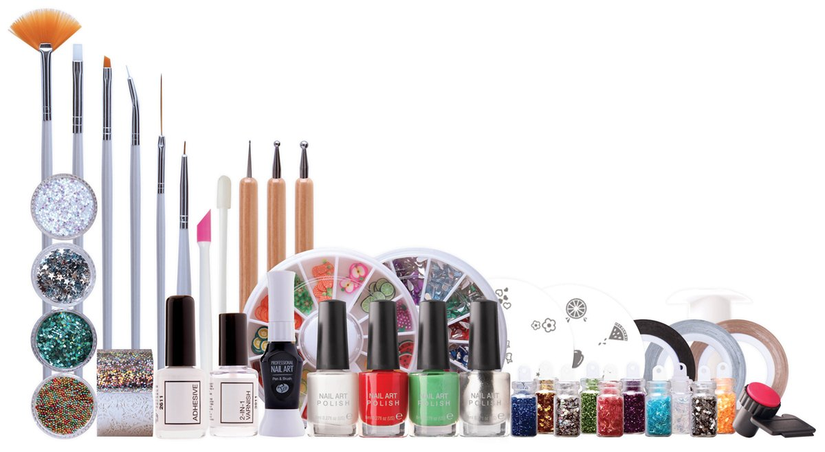 Rio Ultimate Nail Art - Kit profesional para uñas Rio Beauty NULT