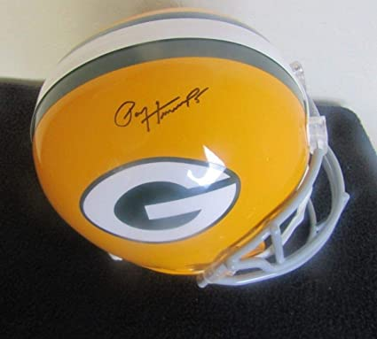 064b04f15ed Image Unavailable. Image not available for. Color  PAUL HORNUNG AUTOGRAPHED  SIGNED GREEN BAY PACKERS FULL SIZE HELMET