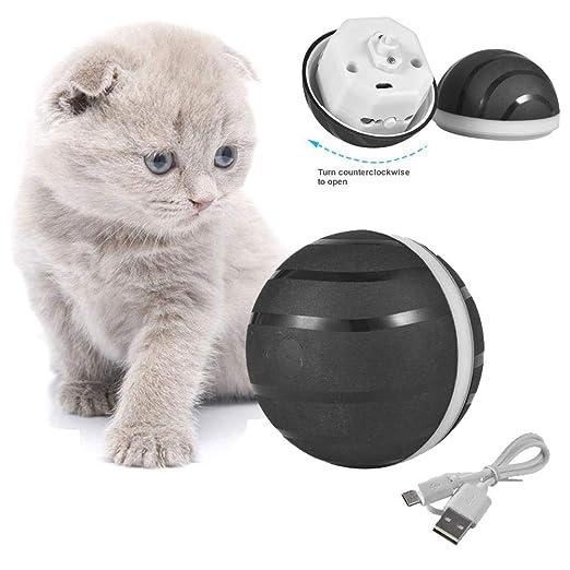 Pelota de gato de Wicked Ball, juguete automático para gatos con ...