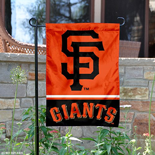 San Francisco Giants Double Sided Garden Flag (Merchandise Giants Francisco San)