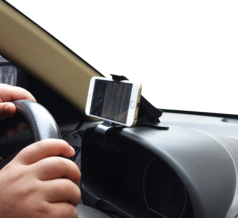 Staffa Universale per cruscotto Auto HUD Staffa per Telefono Antiscivolo Siikii 2019 Nuova Staffa per Auto
