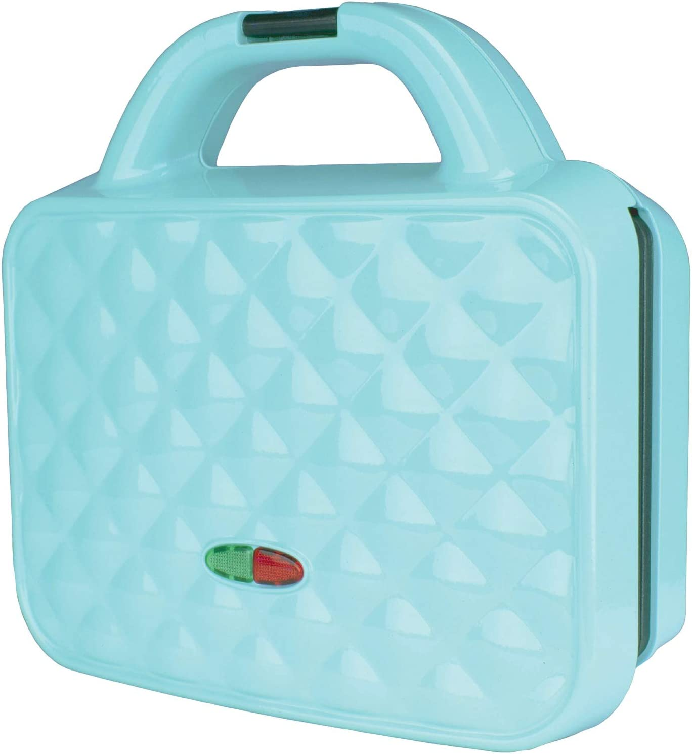 Brentwood TS-239BL Couture Purse Non-Stick Dual Waffle Maker, Blue
