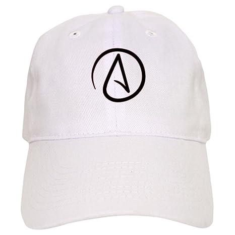 2c6943f3899 Amazon.com  CafePress - Atheist Symbol Cap - Baseball Cap with Adjustable  Closure