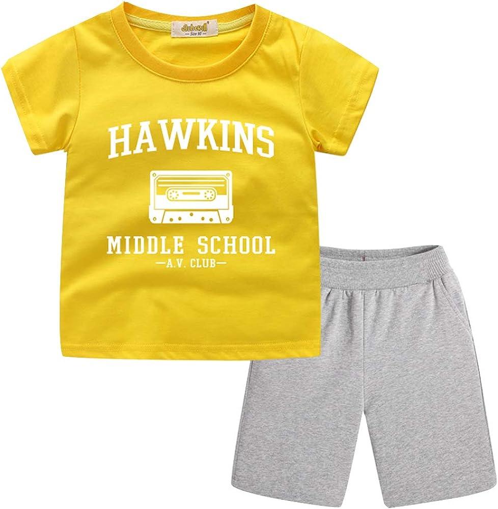Conjunto Deportivo Niño Stranger Things, Camiseta y Pantalón ...