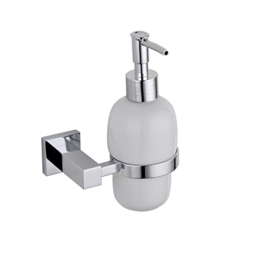 chrome metal square bathroom accessories soap dispenser - Square Bathroom Accessories Chrome