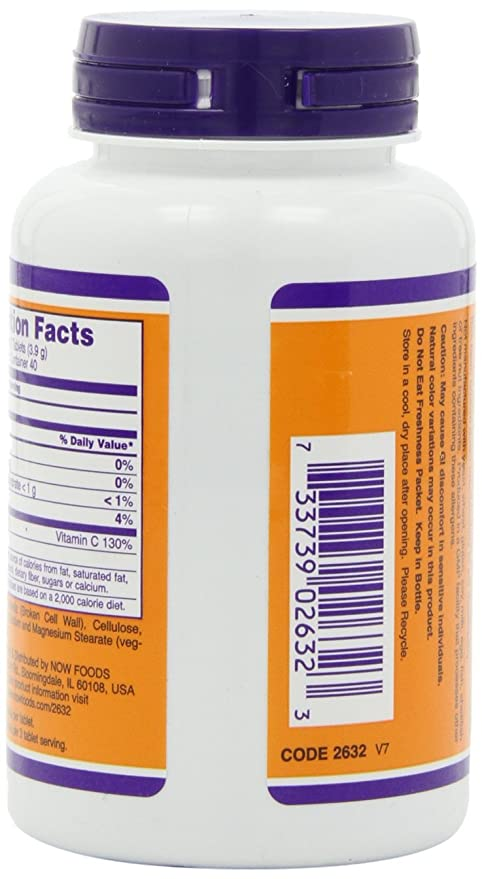 Now Foods Chlorella 1000 mg - 120 tabls.: Amazon.es: Alimentación y bebidas