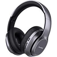 Bluetooth Headphones Over Ear, BLARO Hi-Fi Deep Bass Wireless&Wired Headsets, 72 Hours Playtime, Soft Memory Protein…