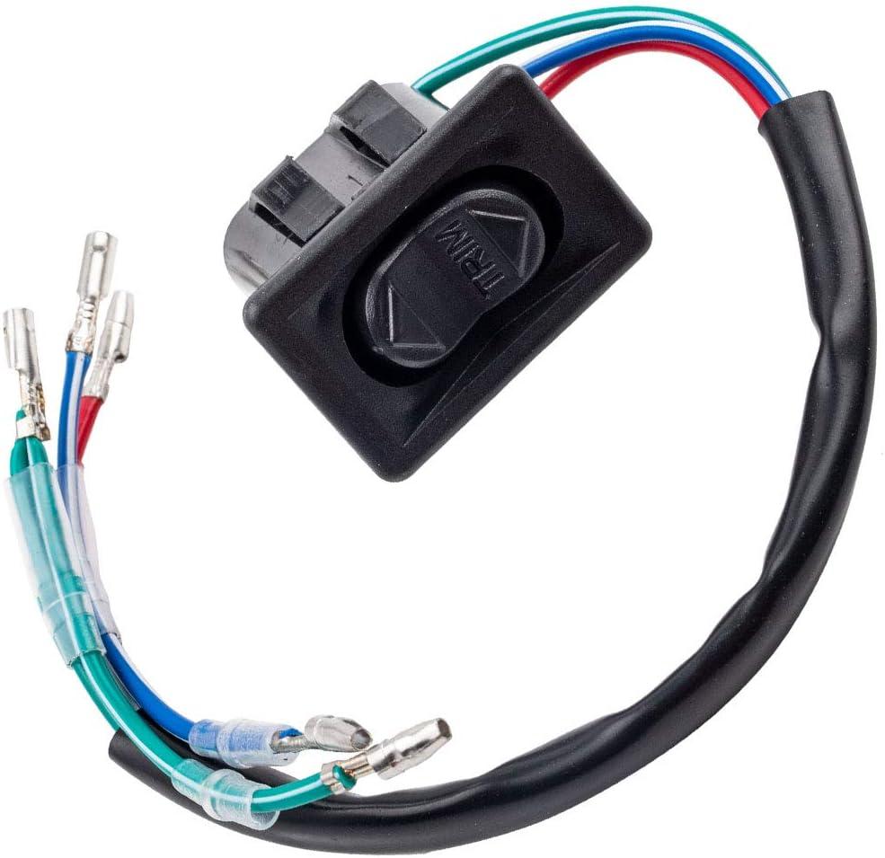 1x Power Trim Tilt Switch for Mercury Mariner Cowl Cowling Pan 87-856990 896620 87-8M0042301