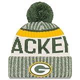 Men's New Era Men's Packers New Era 2017 Sideline Official Sport Knit Hat