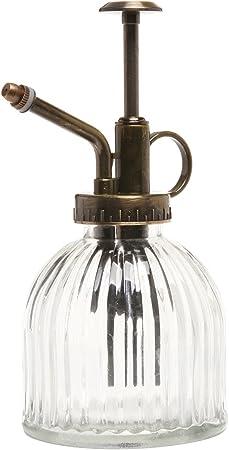 Amazon.com: Botella de vidrio decorativa para spray MyGift ...