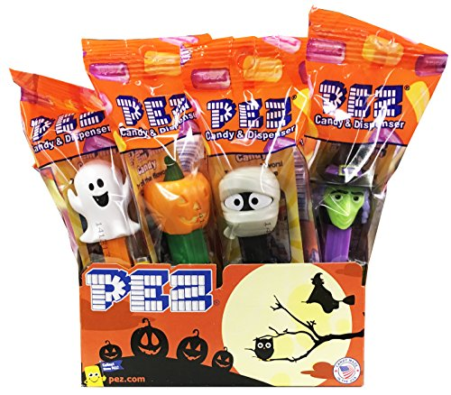 Halloween Trick or Treat PEZ Candy Dispensers: Pack of -