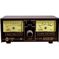Zetagi 203 SWR/Watt - Medidor de potencia doble (3-200 MHz)