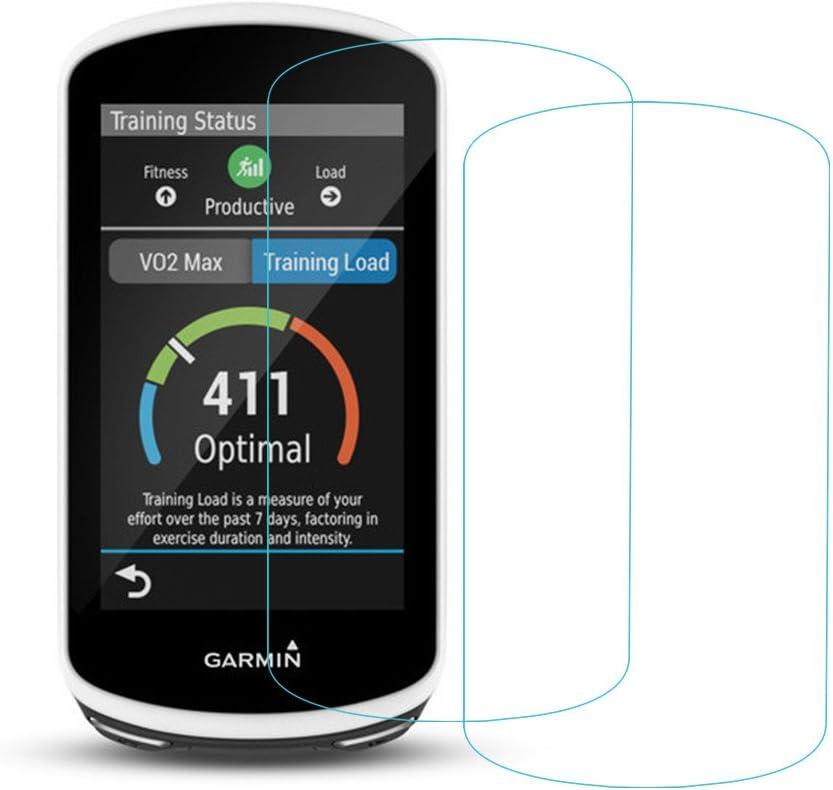 Garmin Edge 1030 Protector de pantalla, 2.5d bordes redondeados 9H premium real vidrio templado Protector de pantalla para Garmin borde 1030 – Cristal protector de pantalla (2 Pack) – nuevo: Amazon.es: Electrónica
