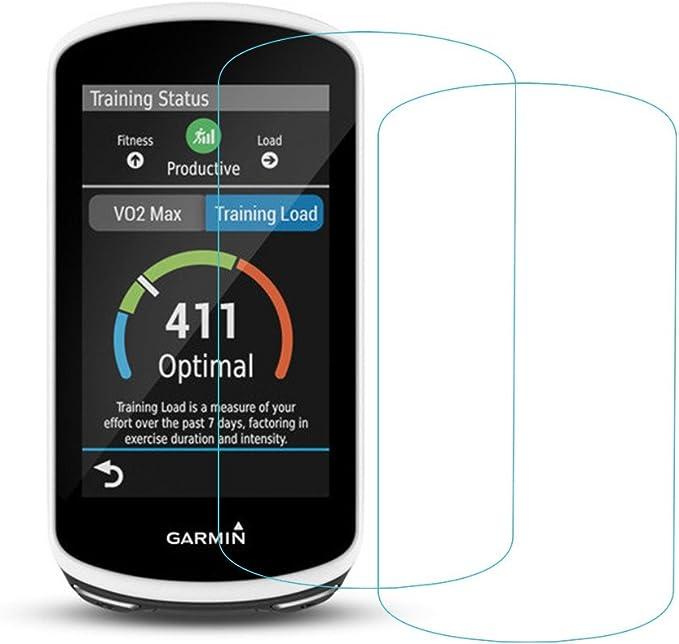 Garmin Edge 1030 Protector de pantalla, 2.5d bordes redondeados 9H ...