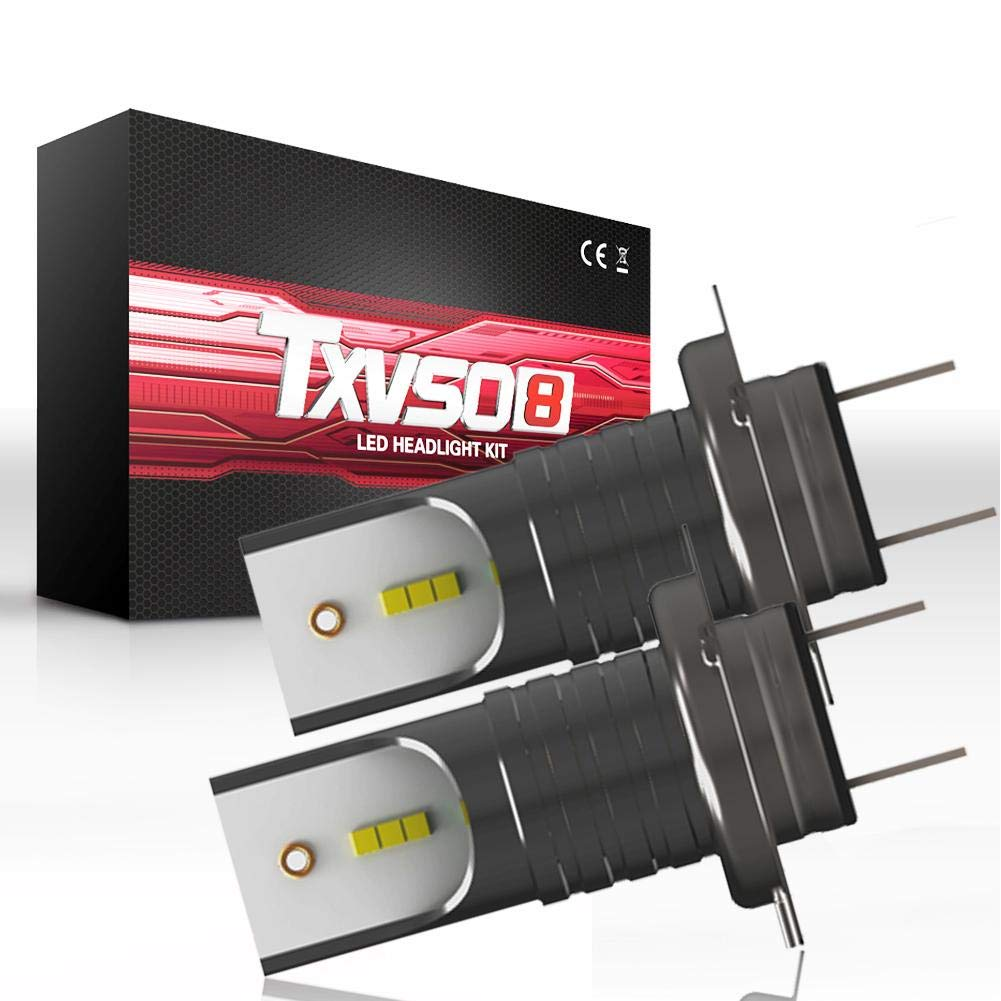 110W H7 COB Auto LED Headlight Hi//Lo Beams Bulbs Mini Ultra-light Super Power
