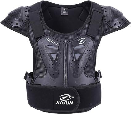 BARHAR Kids Dirt Bike Body Chest Spine Protector Vest Protective for Dirtbike Motocross Skiing Snowboarding