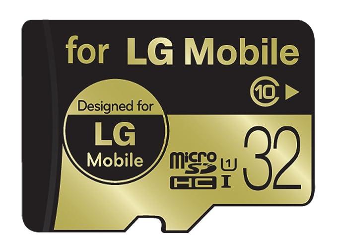 Amazon.com: LG (Micro SD tarjeta de memoria 32 GB UHS-1 ...