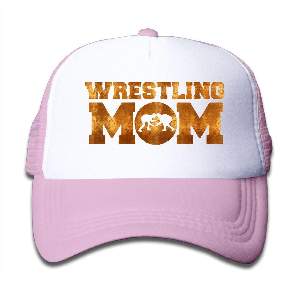 Clarissa Bertha Wrestling Mom Kids Boys' Girls' Baseball Caps Mesh Hats