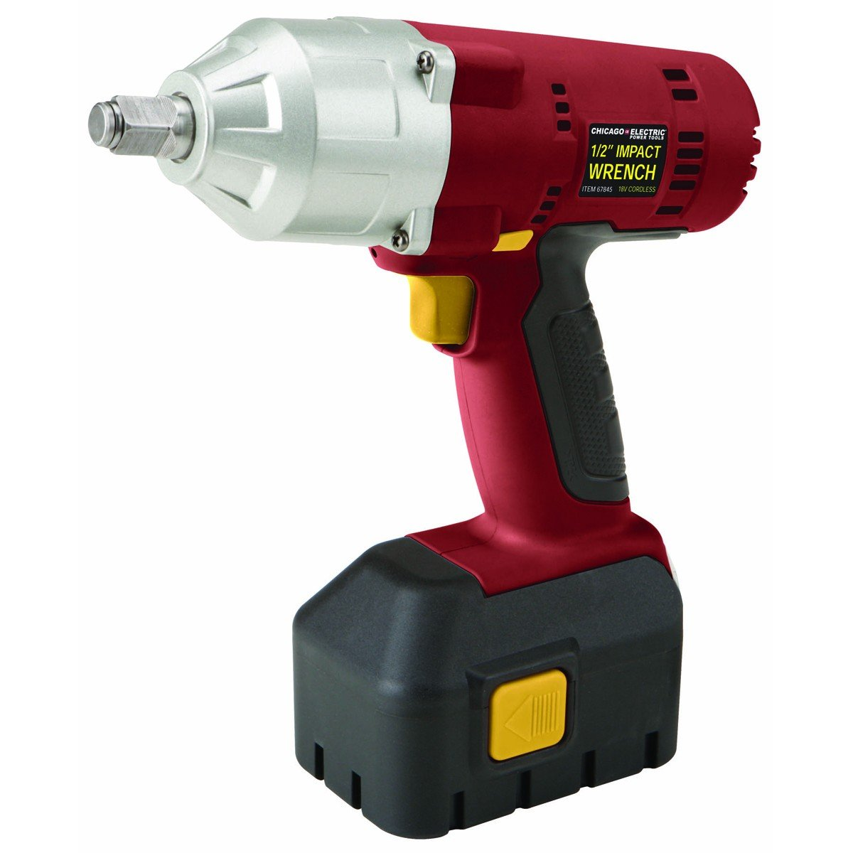 electric impact wrench. amazon.com: 1/2 inch 18 volt cordless impact wrench with built-in led light and variable speed; comes nicd battery one hour quick charger electric