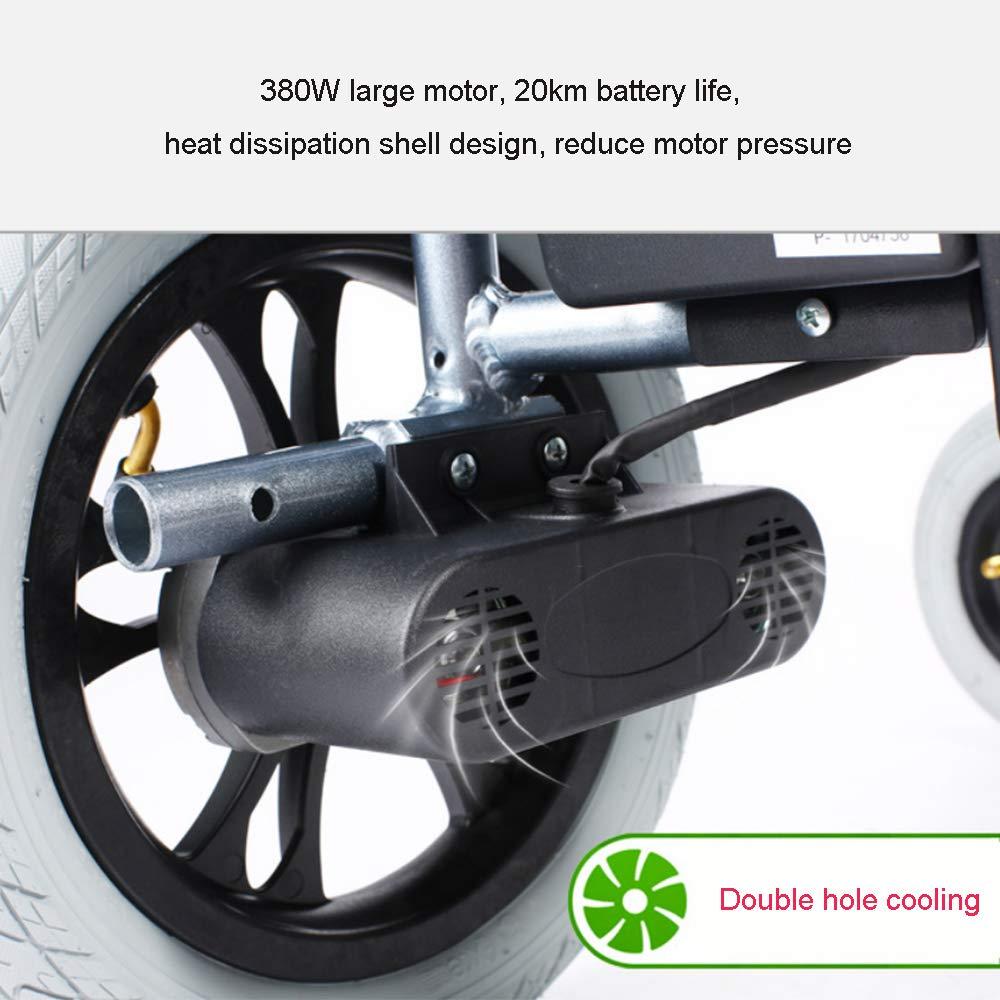Amazon.com: YOLANDEK La silla de ruedas más ligera y ...