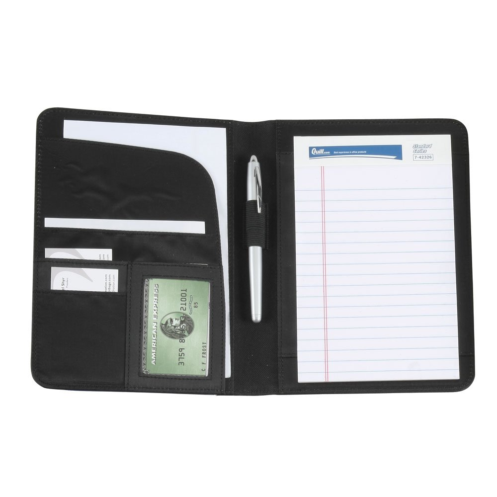 JR SIZE MEMO PAD HOLDER - BLACK