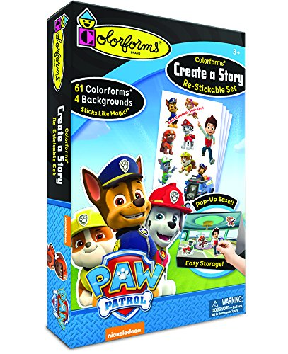 Colorforms Create a Story Paw Patrol