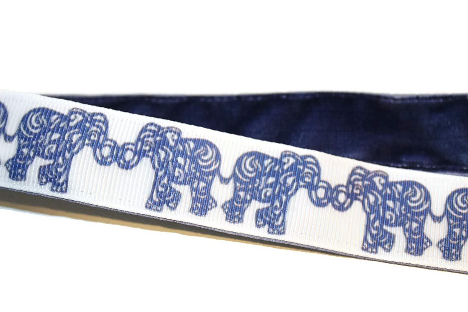 BEACHGIRL Bands Blue Elephants Adjustable No-Slip Headband Hair-Band For Women & Girls