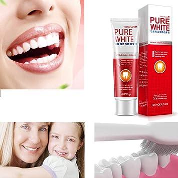 Amazon Com Dmz Clear Protect Gums Toothpaste Whiten Teeth Fresh
