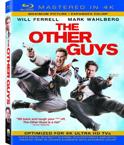 The Other Guys (Mastered in 4K) (Single-Disc Blu-ray + UltraViolet Digital Copy) -  Rated PG-13, Adam McKay, Mark Wahlberg