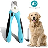 No pain Dog Nail Clipper & Trimmer -- Safety Switch to prevent over cut - 5-minutes to professional grooming - Safety Switch lock - In-built nail file to smooth edge - Razor sharp blade for clean cut