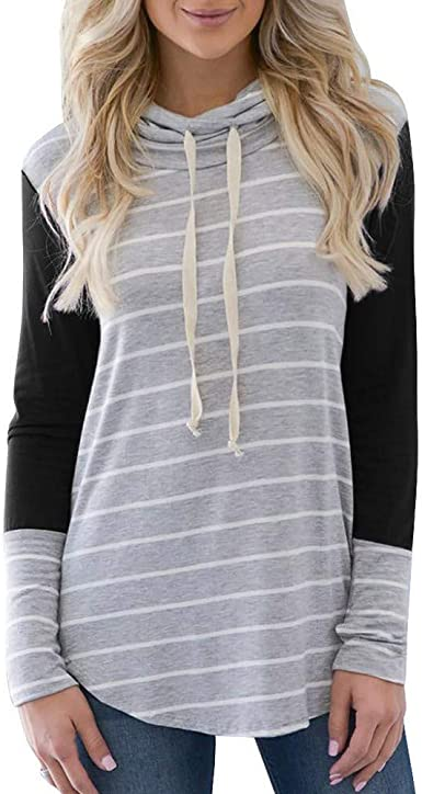 Sudadera de Manga Larga Casual para Mujer cómodo y Suave Camisetas de Manga Larga para Mujer suéter Slim fit Jersey Primavera y otoño Blusa Sudaderas Mujer Tumblr Camisa: Amazon.es: Ropa y accesorios