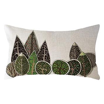 Modern Throw Pillow Cover Minimalist Painting Art Pillow Case Soft