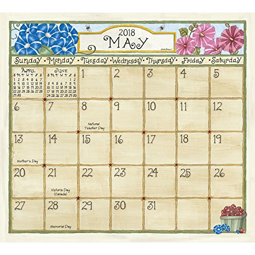 Legacy Publishing Group 2018 Magnetic Calendar Pad, Coming Home